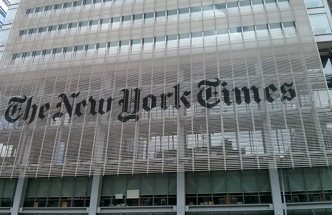 New York Times office (Pixabay photo)