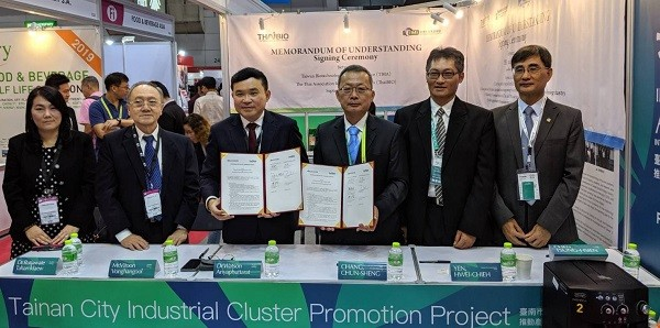 MoU signing ceremony (Source: Taipei Economic and Cultural Office in Thailand)