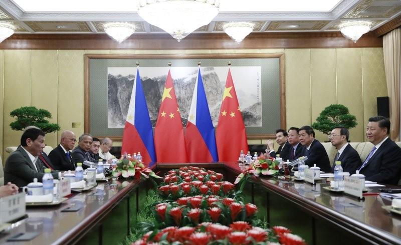 Philippine delegation in Beijing, Aug. 29