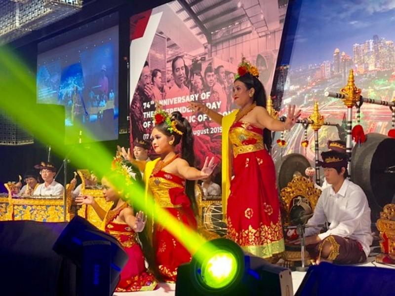 Balinese dancers (CNA photo)