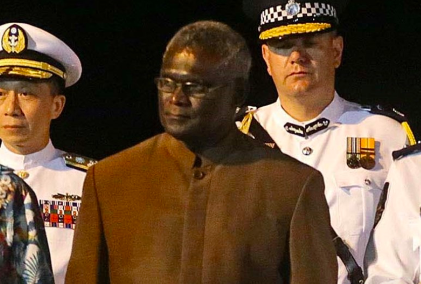 Prime Minister of the Solomon Islands Manasseh Sogavare (Source: CNA/ File photo)