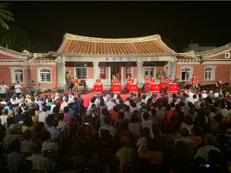 台南後壁黃家古厝音樂會今年邁入22年(中央社)