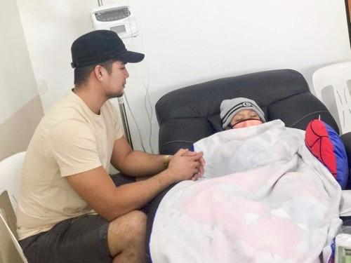Choi Mallari (left) with son Gabriel. (Photo from Choi Mallari)