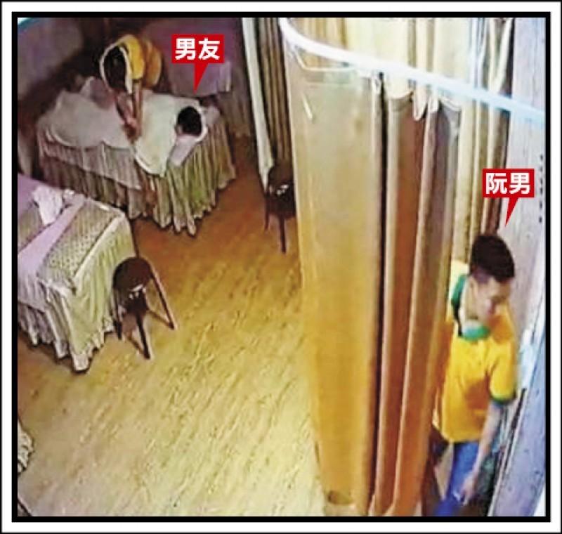 Boyfriend (left), Nguyen (right). (Taipei Police Department image)