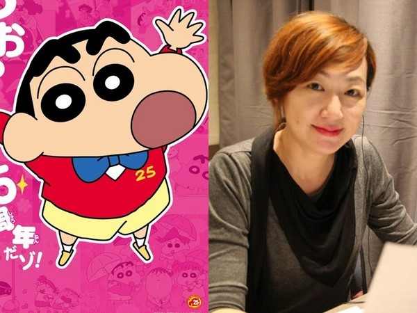 Shin-chan (left), Chiang (right). (Screenshots from YouTube)