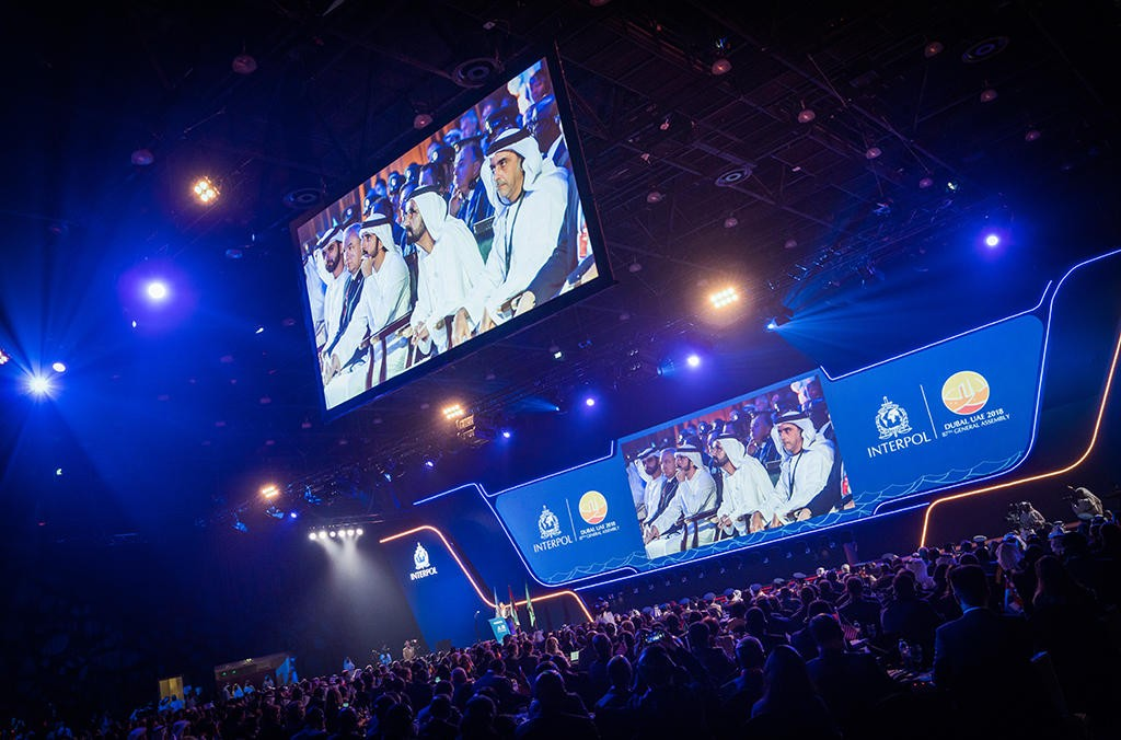 The 87th Interpol General Assembly is held in Dubai in November 2018 (Source: Interpol)