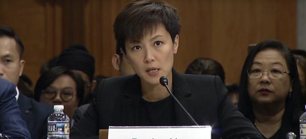Denise Ho (From Congressional-Executive Commission on China livestream)