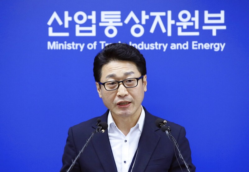 Lee Ho-hyeon, a director general for International Trade Policy at the Trade, Industry and Energy Ministry (AP photo)