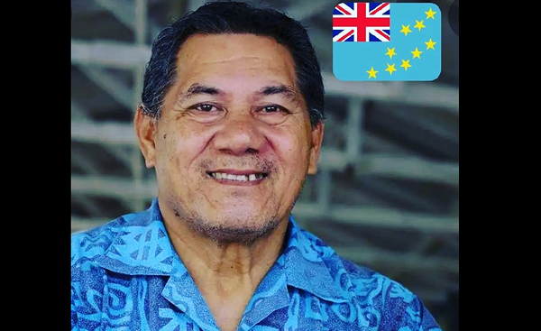 Kausea Natano, Prime Minister of Tuvalu (Photo from social media)