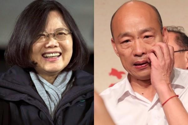 Tsai (left), Han (right).