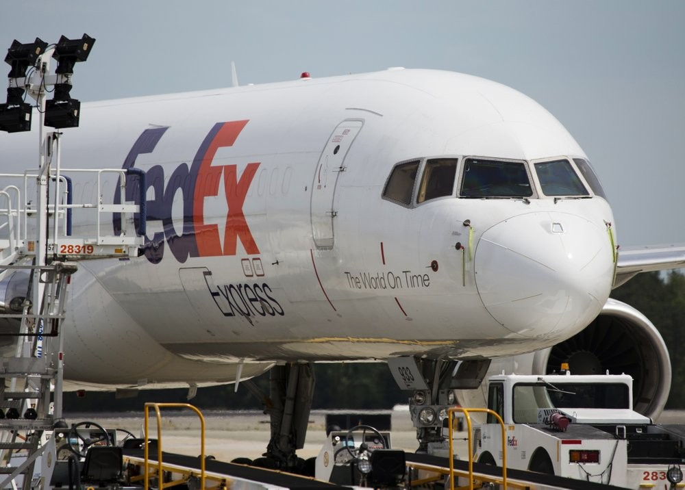 A FedEx pilot was arrested by Chinese authorities