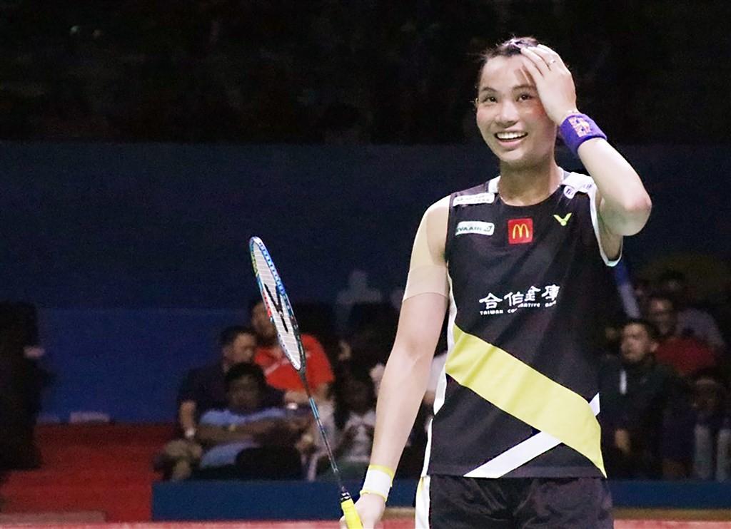 Badminton champion Tai Tzu-ying.