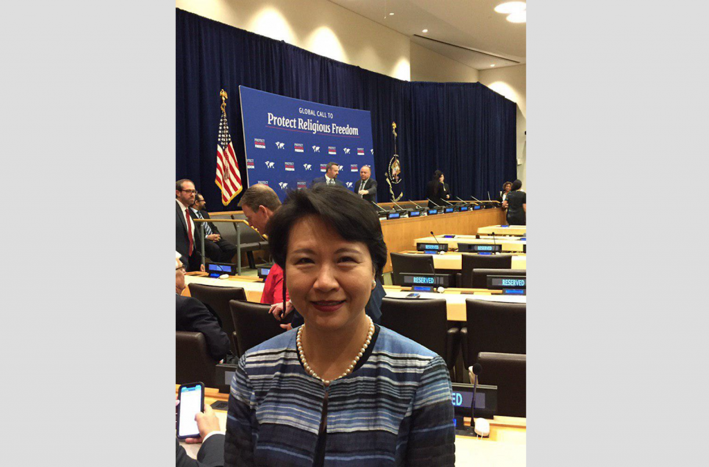Lily Hsu, head of Taiwan's representative office in New York (Source: MOFA)