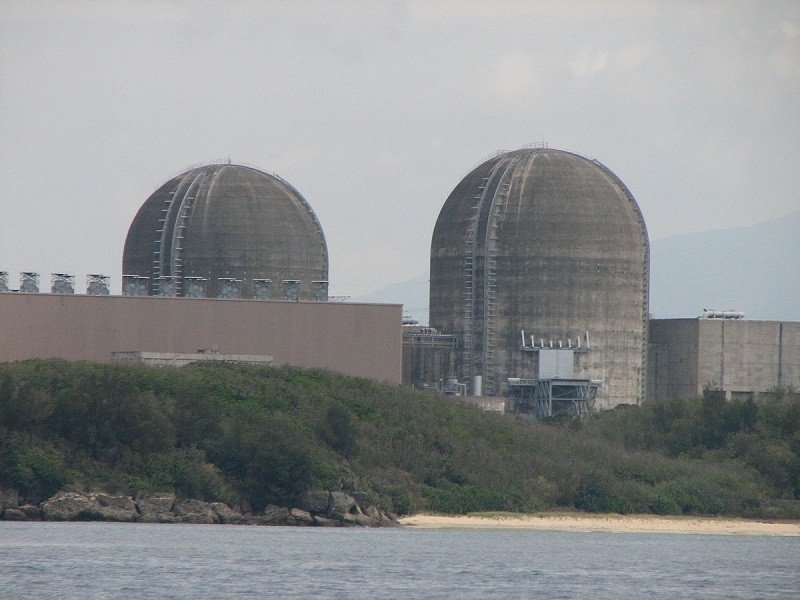 The third nuclear power plant in Kenting National Park. (Wikipedia photo)