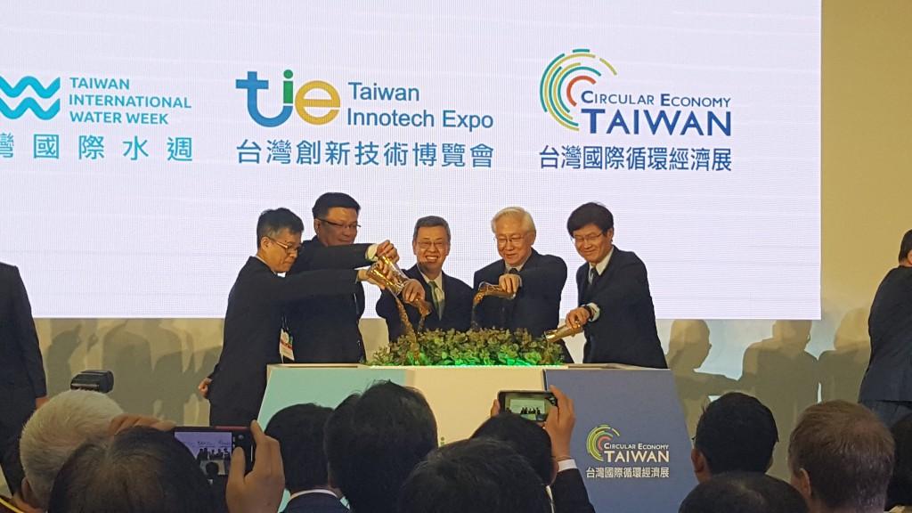 台灣創新技術博覽會三展開幕 副總統:讓全世界能看見「MIT upgrade」