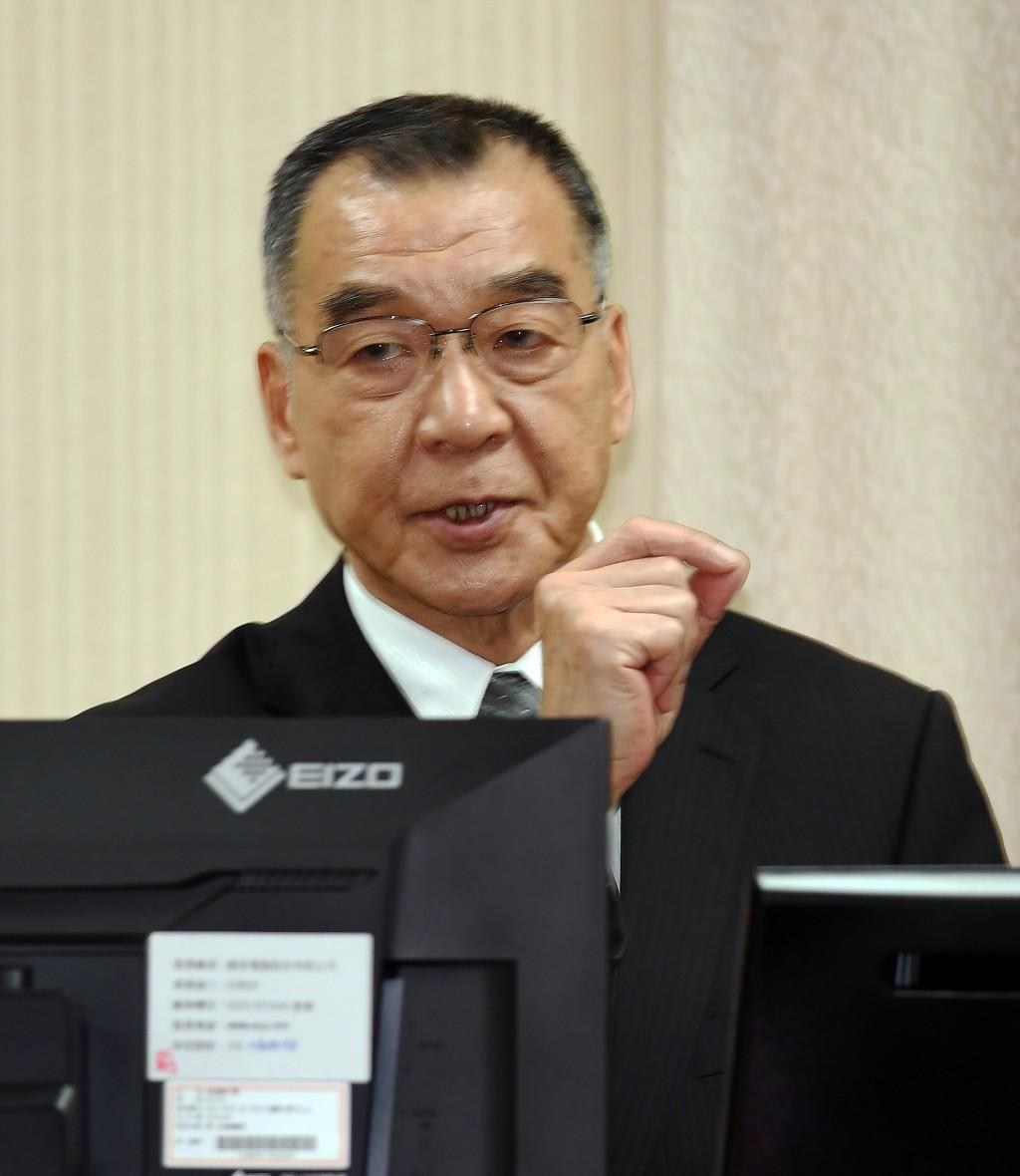 NSB chief Chiu Kuo-cheng speaking at the Legislative Yuan Wednesday October 2.