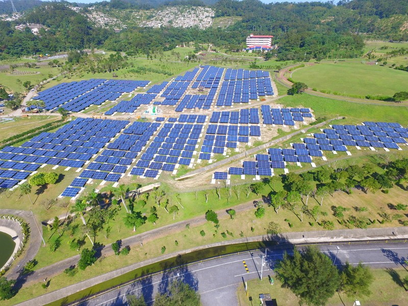 Landfill-turned energy farm (Taipei City Department of Environmental Protection photo)