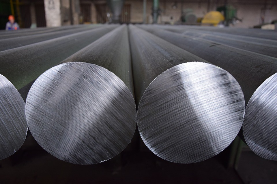 Aluminum rods (Pixabay user homw)