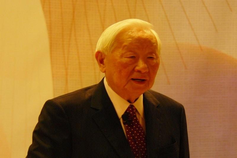 Morris Chang of TSMC (CNA photo)