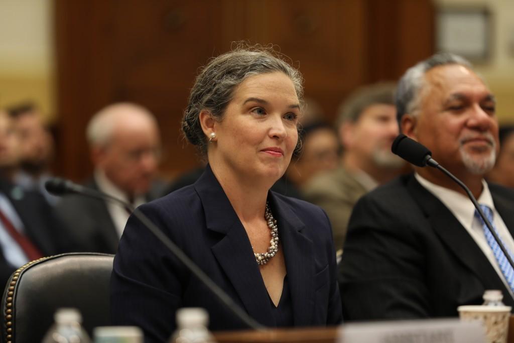 Deputy Assistant Secretary of State Sandra Oudkirk.