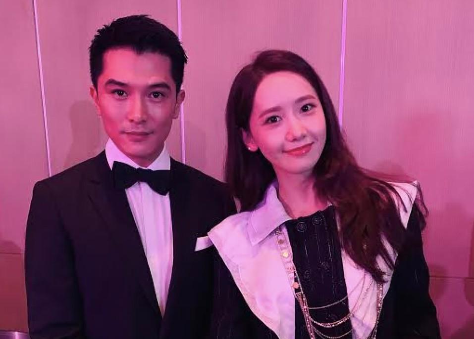 邱澤(左)和潤娥都獲頒Face of Asia Award(圖/華映娛樂)
