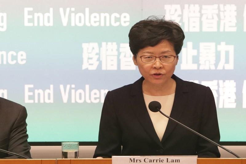 Carrie Lam (CNA)