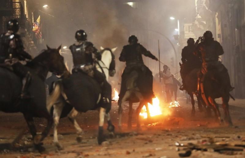 厄瓜多街頭示威(圖/美聯社)