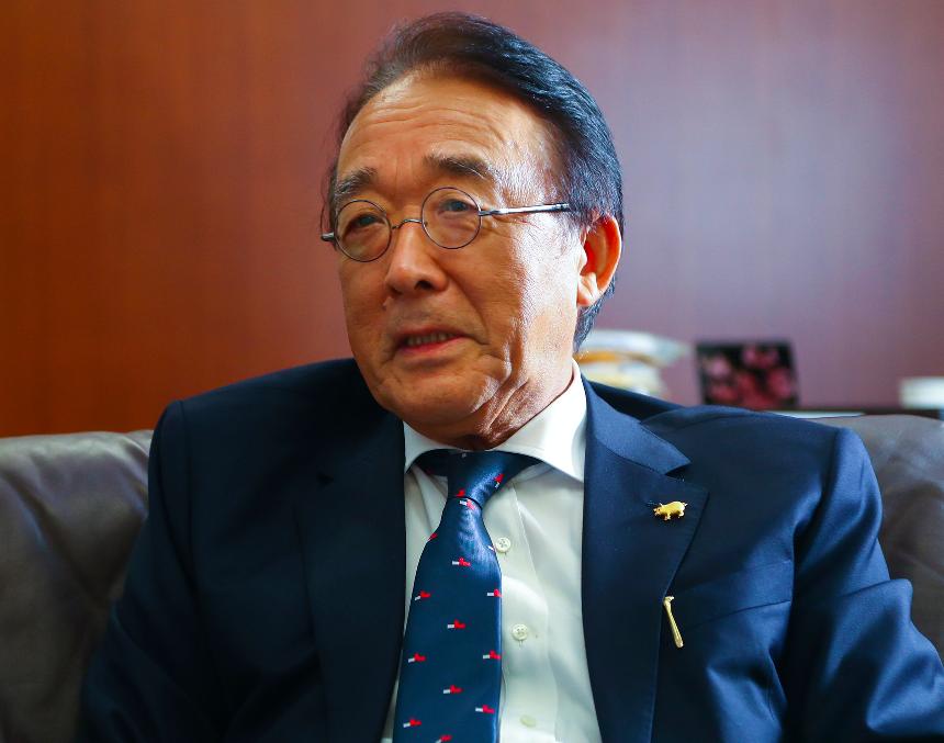 日本駐台代表沼田幹夫即將離任(圖/中央社)