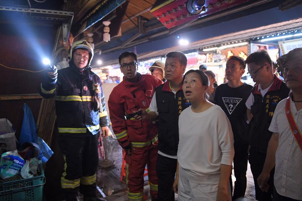 Dongdamen Night Market in E. Taiwan has yet another fire