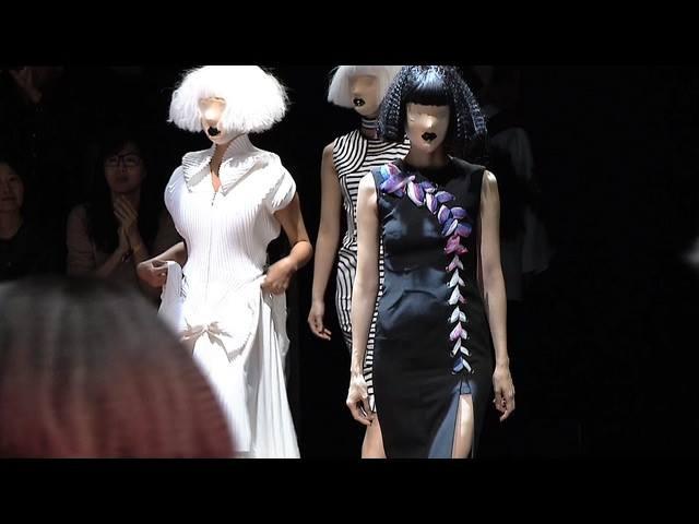 Models clad in black stir controversy at Taipei Fashion Week