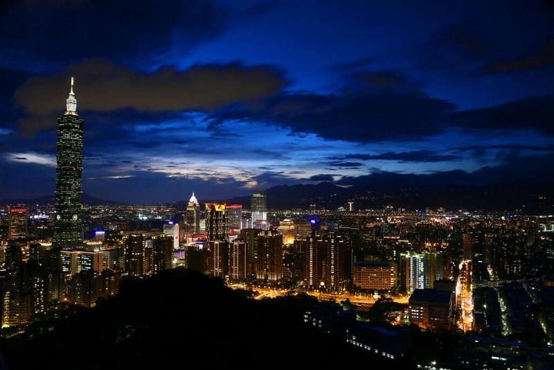Night view of Taipei (Travel Taipei website photo)