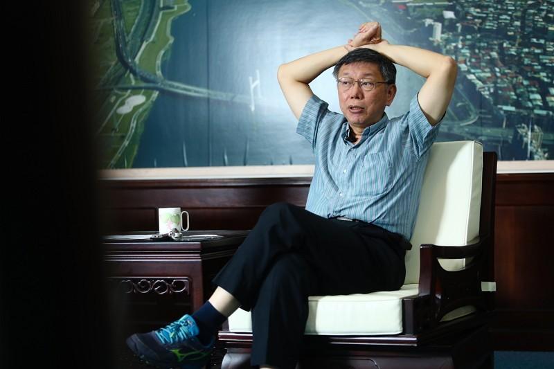 Taipei Mayor Ko Wen-je (CNA photo)