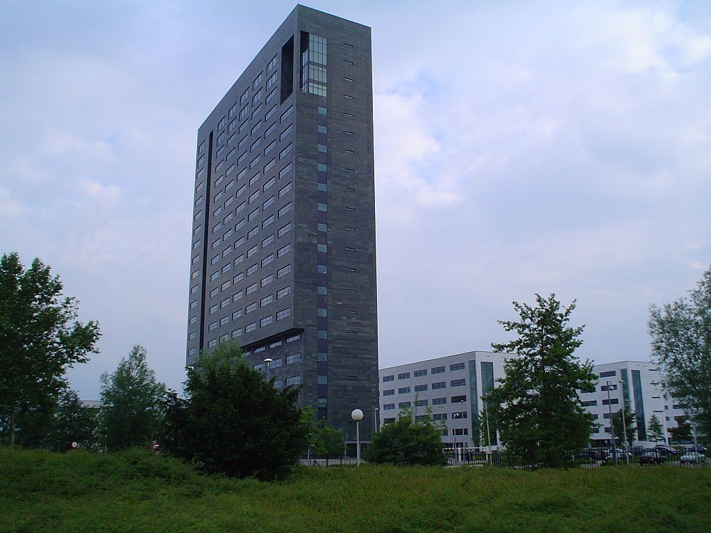 The headquarters of electronics firm ASML in the Dutch town of Veldhoven (photo by A ansems).