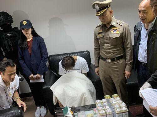 (Photo by Thailand's Narcotics Suppression Bureau)