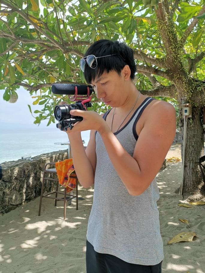澳門青年的梁子亨來臺就讀大學後留下來創業,從事專業婚禮攝影(照片來源:梁子亨)
