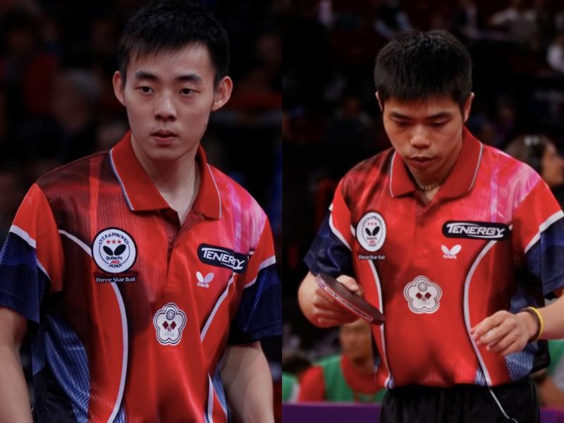 德國桌球賽莊智淵(右)、陳建安晉級4強(圖/維基百科)