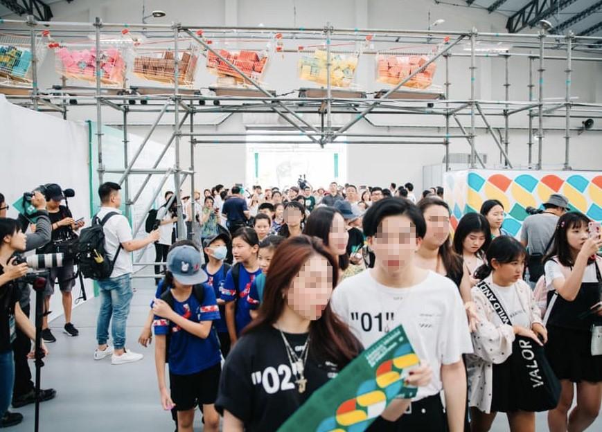 台灣設計展吸引人潮朝聖(圖/官方臉書)