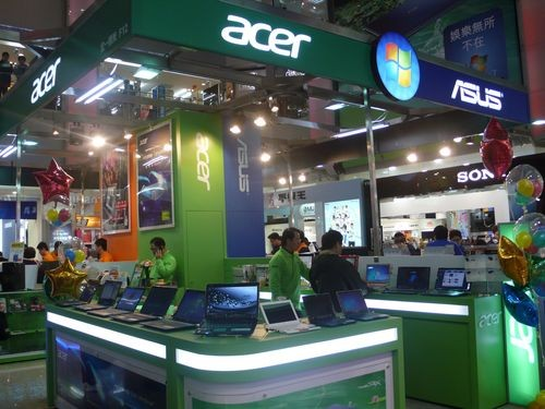 Taiwanese brands Acer and Asus.