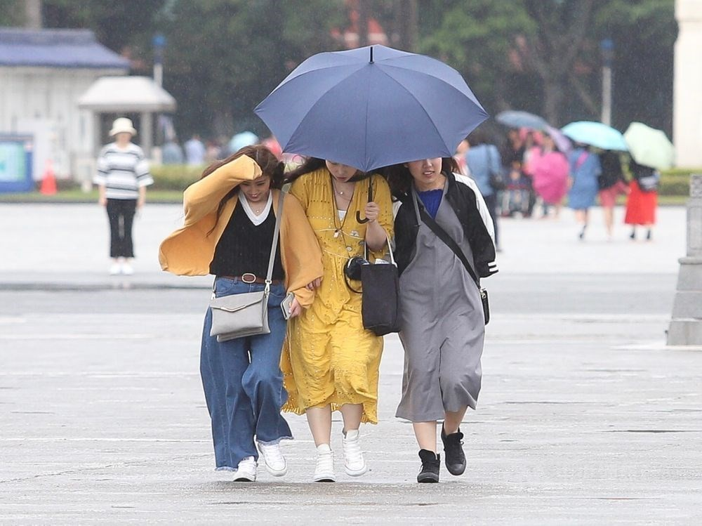 Sunny holiday to be followed by cooler week.