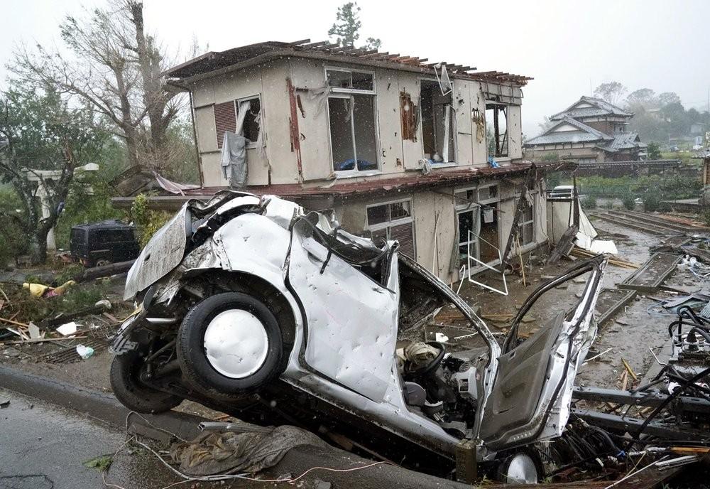 Typhoon Hagibis made landfall in Japan Saturday October 12.