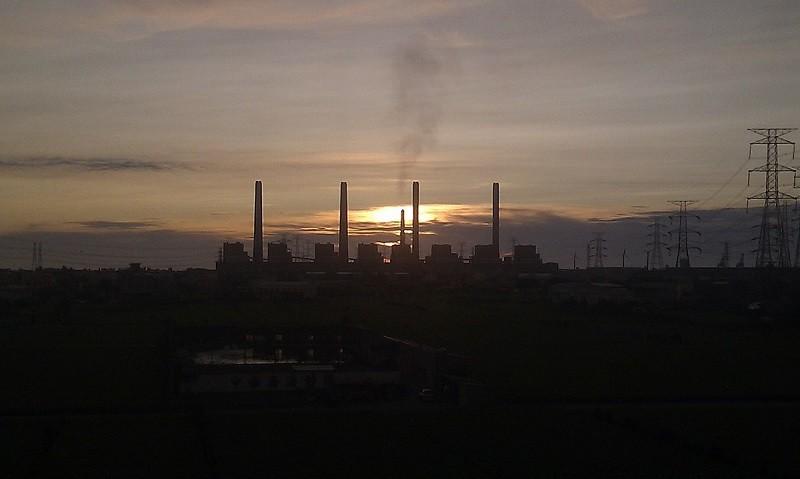 Taichung Power Plant. (Wikipedia photo)