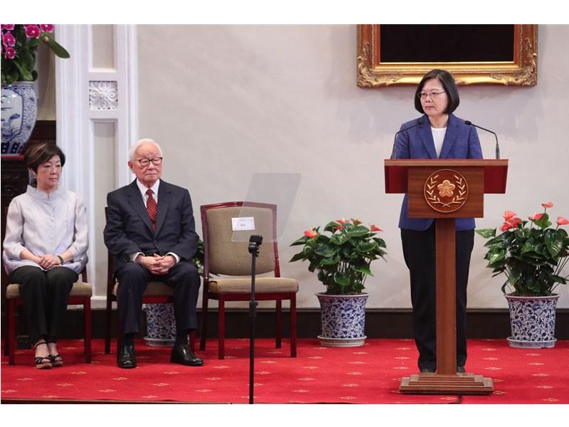 張忠謀將出任2019台灣APEC代表