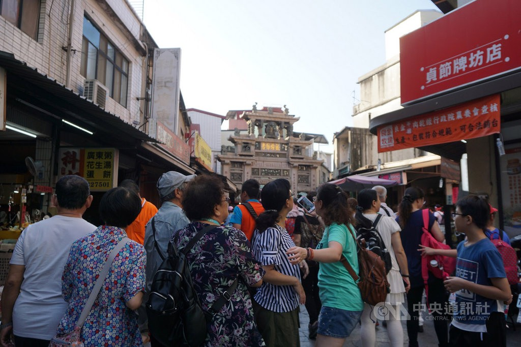 Tourism is an important sector of Kinmen's economy (Source: CNA)