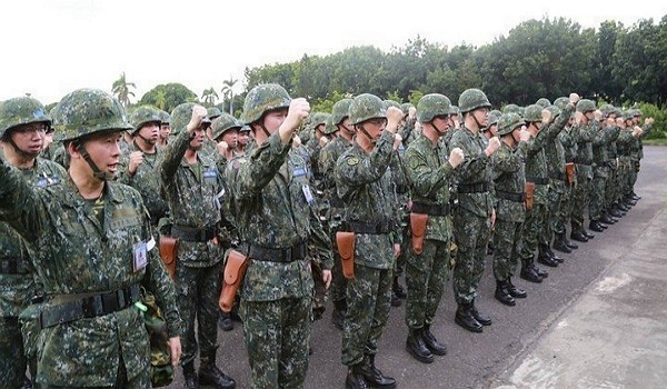 Taiwanese soilders (Ministry of National Defense)