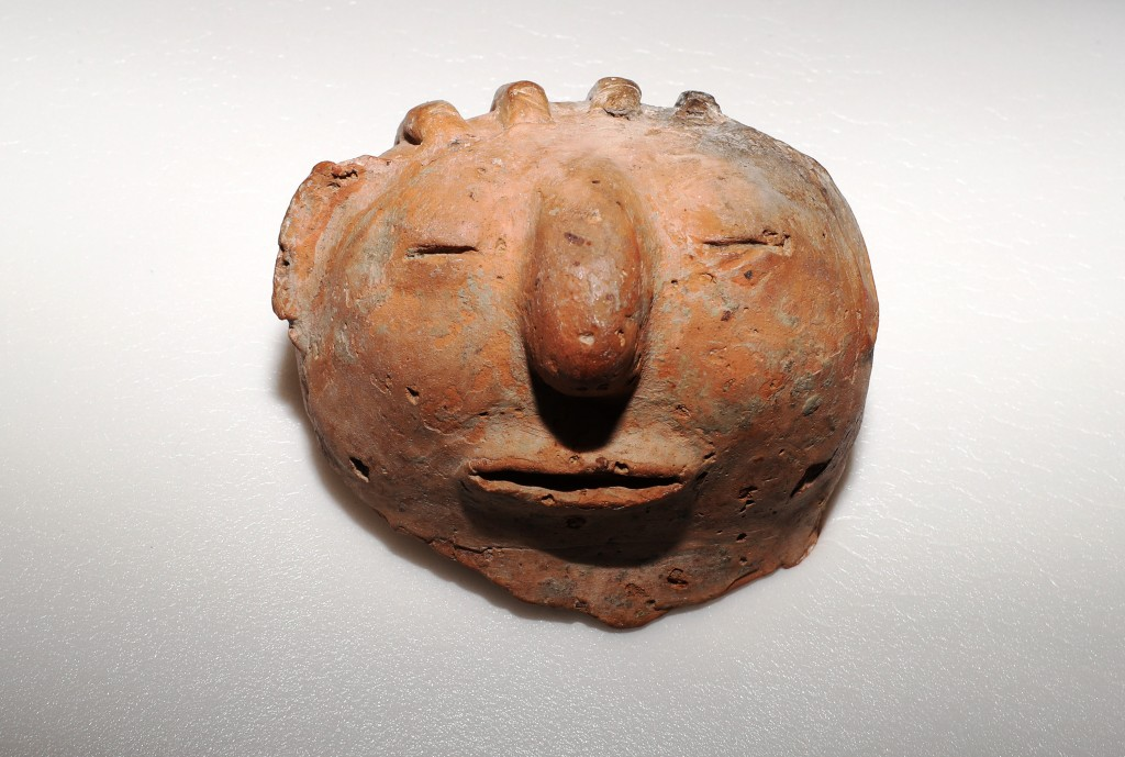 A clay item at the National Museum of Archeology (CNA photo)