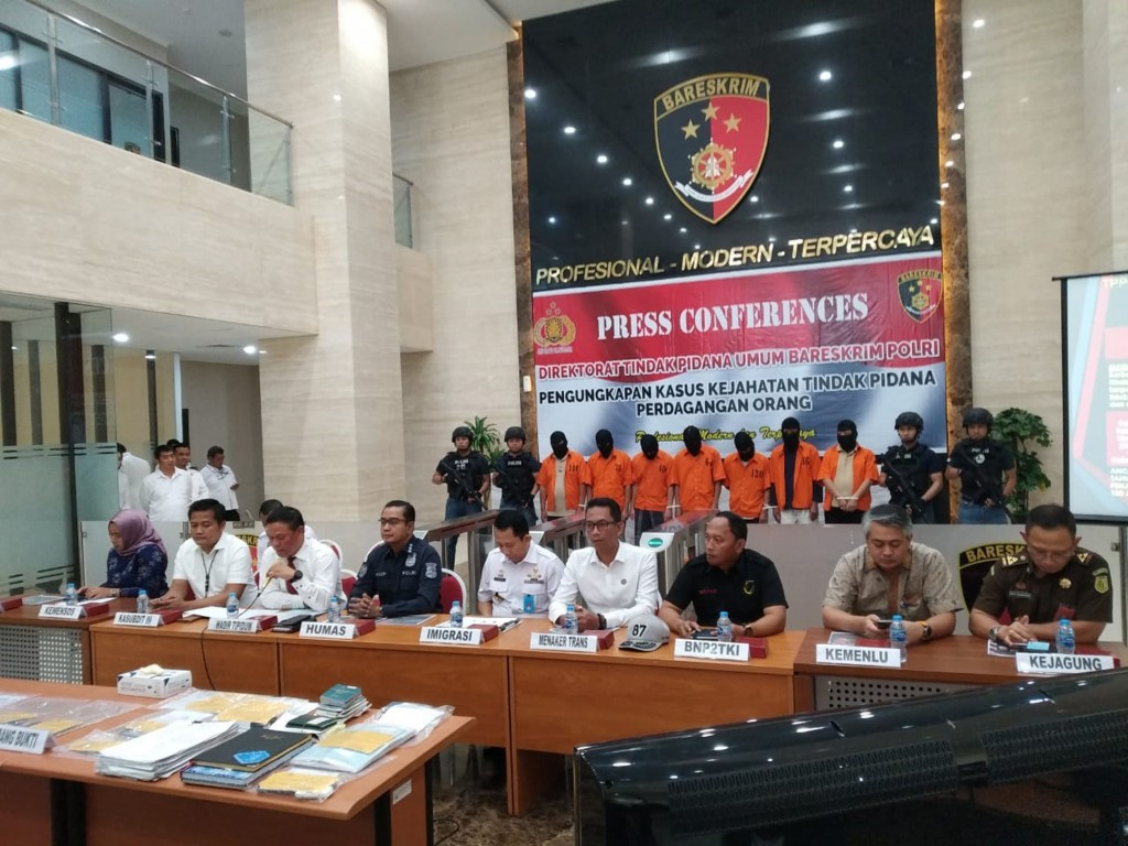 Indonesian police are looking for 6 Taiwanese suspects (photo courtesy of Indonesian police).