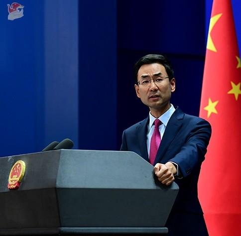 圖為中國外交部發言人耿爽。(圖片取自中國外交部官網)