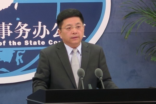 China's TAO spokesman Ma Xiaoguang