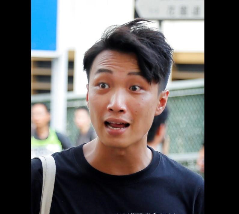 岑子杰16日晚在九龍旺角遇襲受傷 (美聯社檔案照片)