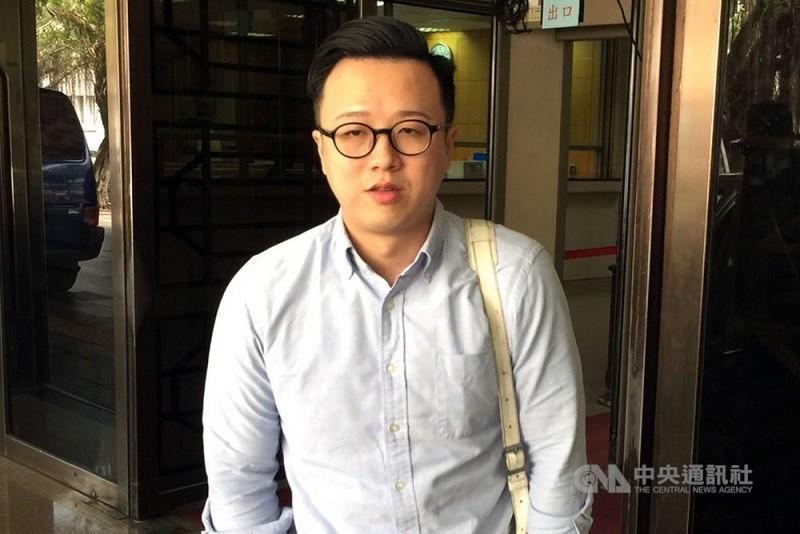 國民黨草協聯盟發起人李正皓(中央社檔案照片)